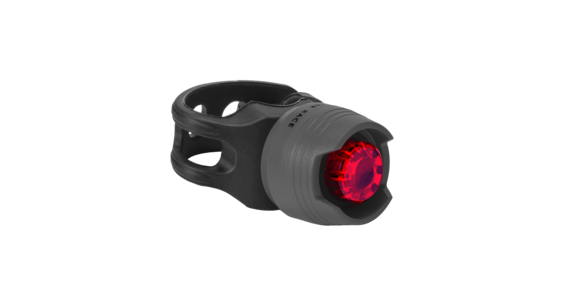 RFR Diamond HQP Frontlicht red LED grey